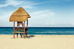 Capanna del Cancun Immagini Stock Libere da Diritti