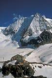 Capanna della montagna Fotografie Stock