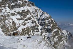 Capanna della montagna Immagini Stock