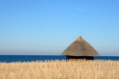 Capanna della spiaggia Fotografie Stock