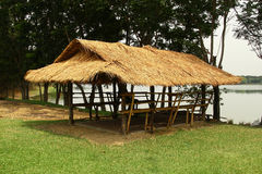 Capanna di bambù Immagine Stock