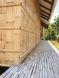 Capanna di bambù Immagine Stock Libera da Diritti