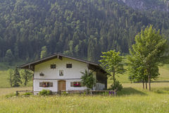 Capanna di Laengental in Baviera Immagini Stock
