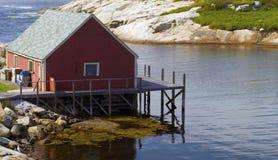 capanna di pesca Immagini Stock