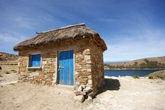 capanna di titicaca Fotografia Stock