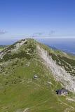 Capanna di Weilheimer in Ester Mountains Fotografie Stock