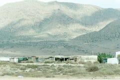 Capanna e montagna Fotografia Stock Libera da Diritti