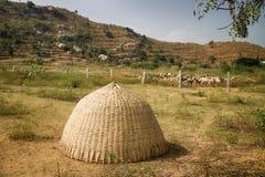 Capanna indiana del pastore Fotografie Stock Libere da Diritti
