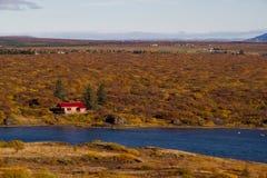 Capanna islandese fotografia stock libera da diritti