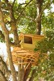 capanna sugli'alberi Fotografia Stock