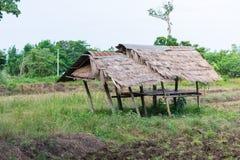 Capanna tailandese dell'agricoltore Immagine Stock