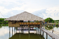 Capanna tailandese di tradizione Fotografia Stock Libera da Diritti