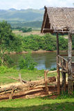 Capanna in Tailandia Fotografie Stock