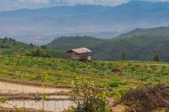 Capanna in Tailandia del nord Fotografie Stock