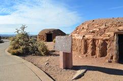 Capanne del deserto nel deserto Grand Canyon del mohave Immagini Stock Libere da Diritti