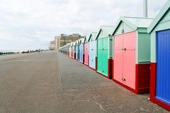capanne della spiaggia Immagine Stock Libera da Diritti