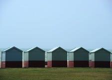 Capanne della spiaggia a Brighton Fotografie Stock Libere da Diritti