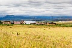 Capanne di Drakensburg Fotografie Stock