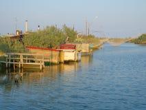 Capanne di pesca Fotografie Stock