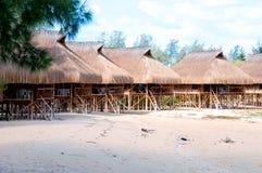 Capanne nel Mozambico Immagine Stock