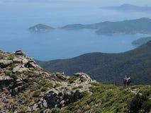 Capanne-Spitze - Elba Island Stockbilder