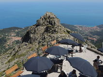 Capannepiek - Elba Island Royalty-vrije Stock Fotografie