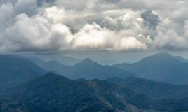 Capas de colinas fotografía de archivo libre de regalías