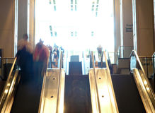 Capas de la escalera móvil Imagen de archivo libre de regalías