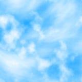 Capas de la nube Foto de archivo libre de regalías