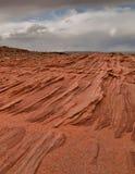 Capas de la piedra arenisca de Navajo Imágenes de archivo libres de regalías
