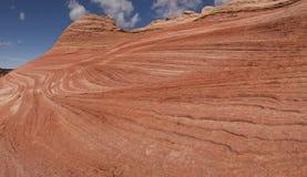 Capas de la piedra arenisca de Navajo Imagen de archivo libre de regalías