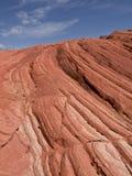 Capas de la piedra arenisca en Arizona Fotografía de archivo libre de regalías
