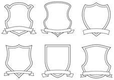 Capas de los brazos (vector) Foto de archivo
