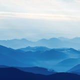 Capas de montaña Fotografía de archivo libre de regalías