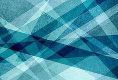 Capas del verde azul y del blanco en modelo abstracto del fondo con las líneas triángulos y rayas en diseño geométrico Fotos de archivo