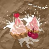 Capcake Royalty Free Stock Photo