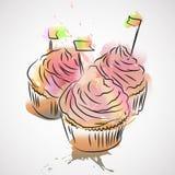 Capcake Royalty Free Stock Image