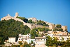 Capdepera castle in Mallorca Stock Image
