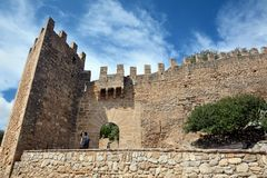 Capdepera Castle Royalty Free Stock Photos