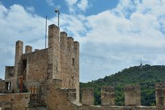 Capdepera Castle Royalty Free Stock Images