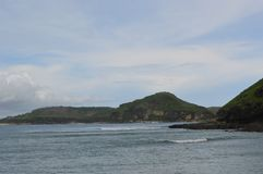 Cape Aan, Lombok, Indonesia stock photography