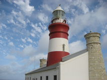 Cape Agulhas Lighthouse Stock Image
