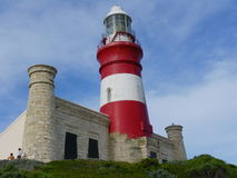 Cape Agulhas Lighthouse Royalty Free Stock Images