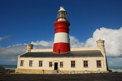Cape Agulhas Lighthouse (South Africa) Royalty Free Stock Photography