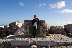 Cape Agulhas, South Africa. Stock Photo