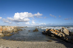 Cape Agulhas, South Africa Stock Images