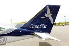 Cape Air Cessna 402 à l'aéroport de Boston Photographie stock
