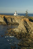 Cape Arago lighthouse 2 Stock Image