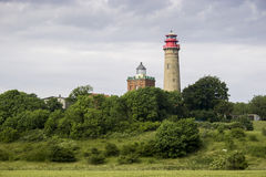 Cape Arkona Lighthouse in Rugen island Stock Image