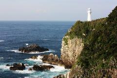 Cape Ashizuri in Kochi. Japan Royalty Free Stock Photo